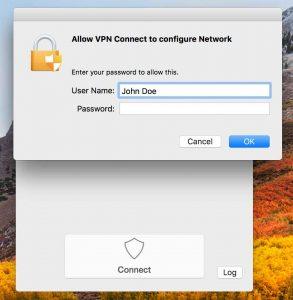 Authentication FlowVPN