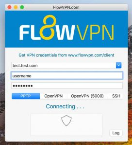 Connecting FlowVPN