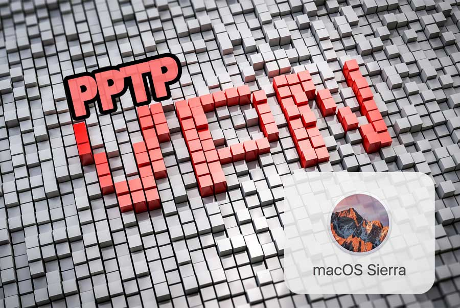 PPTP VPN Connection on MacOS Sierra